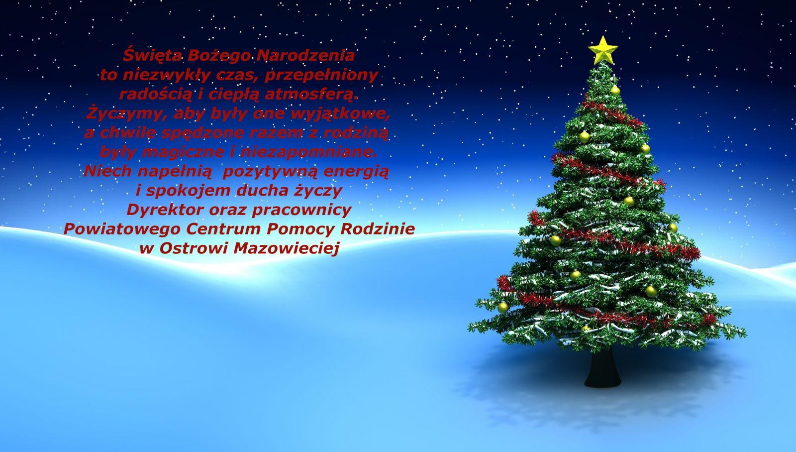 Życzenia Święta Bożego Narodzenia - obrazek